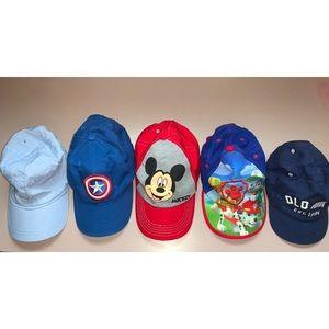 Paw Patrol-Captain America-Mickey Mouse kids Cap